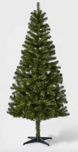 6ft Unlit Artificial Christmas Tree Alberta Spruce