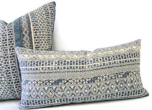Blue Boho Pillows