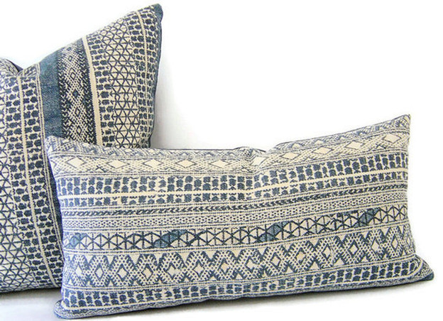 Blue Boho Pillows