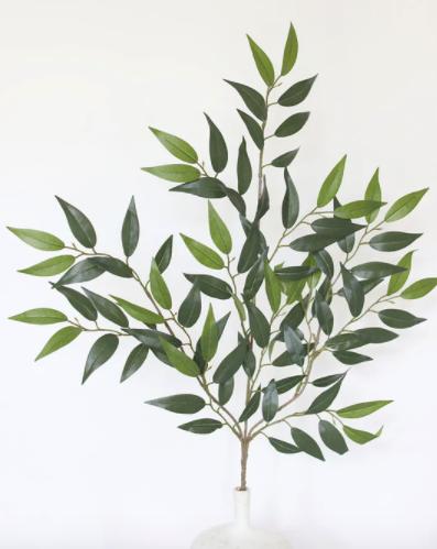 """Artificial Smilax Leaf Spray - 27"""" Tall"""