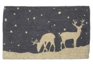 Falling Snow Deer Reindeer