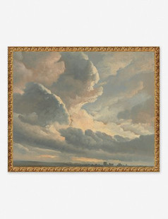 Study Of The Clouds Wall Art