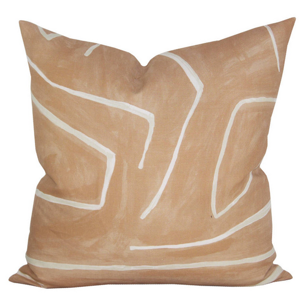 Abstract Stripe Pillow