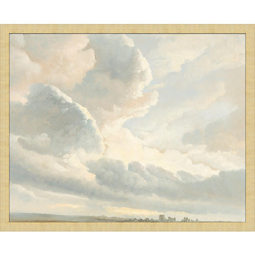 Soft Clouds Painting