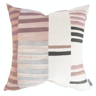 Patchwork Stripe Pillow