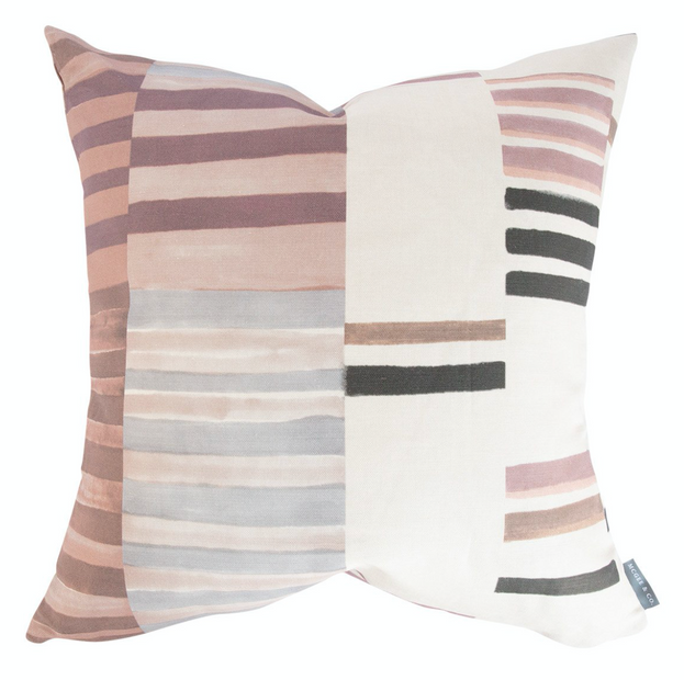 Patchwork Stripe Pillow
