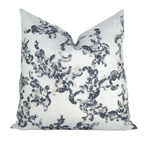 Novella Abstract Floral Pillow