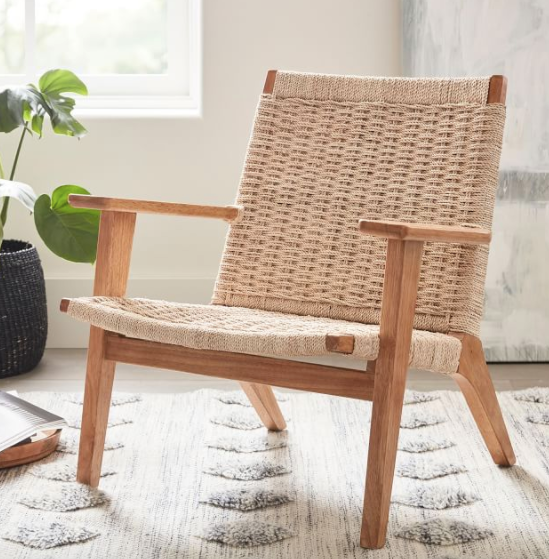 Woven Occasional Armchair