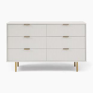 Quinn Lacquer 6-Drawer Dresser