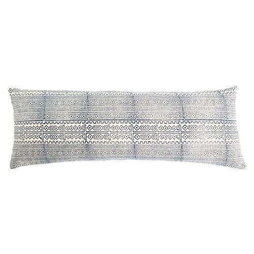 Blue Lumbar Pillow
