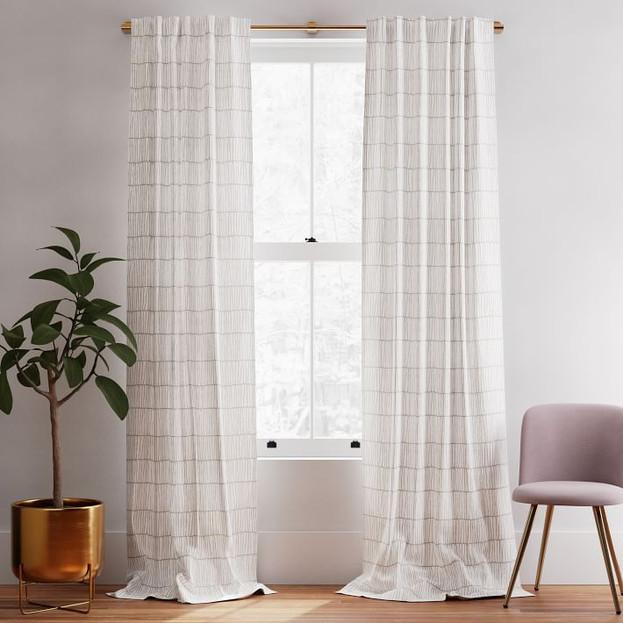 Line Lattice Curtain