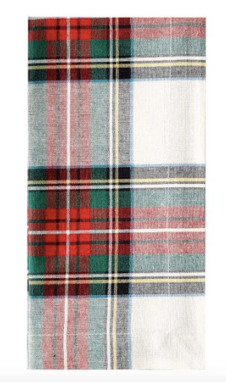 Stewart Plaid Cotton Napkins - Set of 4