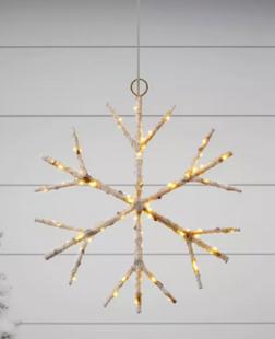 Birch Twig Snowflake