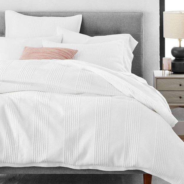 Cotton Cloud Jersey Duvet Cover & Shams