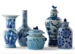 Blue Ming Small Ceramic Collection