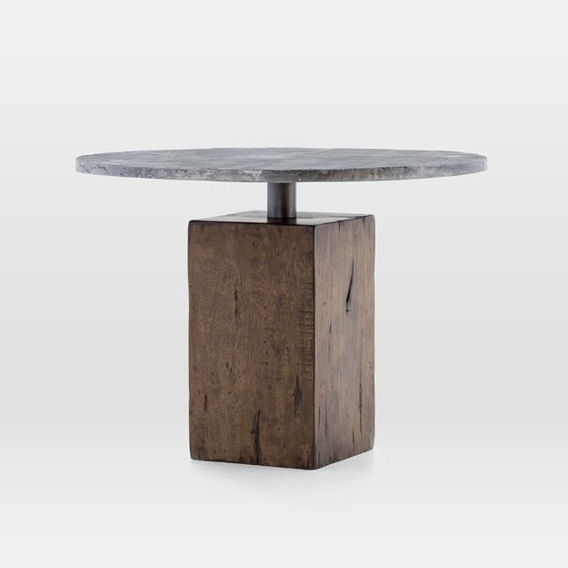 Reclaimed Wood Base Dining Table