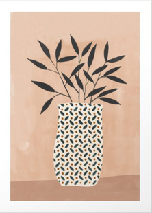 Odin Vase Art Print