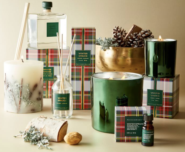 Winter Spruce Scent Collection