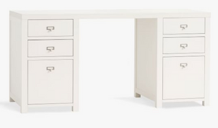 Customizable Pedestal Desk