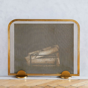 Deco Fireplace Screens