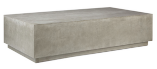 Grey Cement Coffee Table