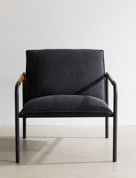 Gray Lounge Chair