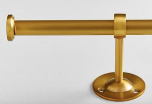 Classic Steel Rod - Brass