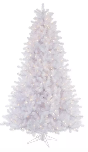 Crystal White Pine Artificial Christmas Tree