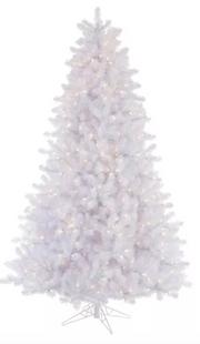 Crystal White Pine Artificial Christmas Tree