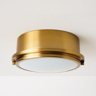 Metal Ring Flushmount