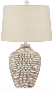Neutral Dot Table Lamp