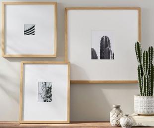 Wood Gallery Single Opening Oversized Mat Frames