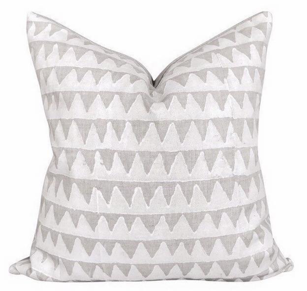 Pyramids Linen Pillow