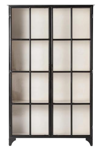 Black Iron Cabinet