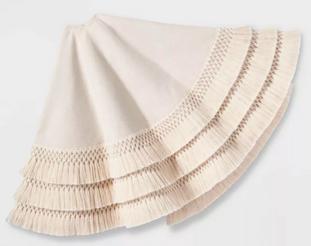Tree Skirt with Tassels