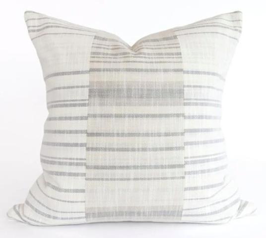Coastal Patchwork Pillow