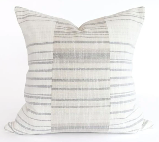Coastal Patchwork Pillow