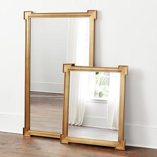 Gold Foil Mirror