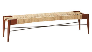 Large Woven Bench