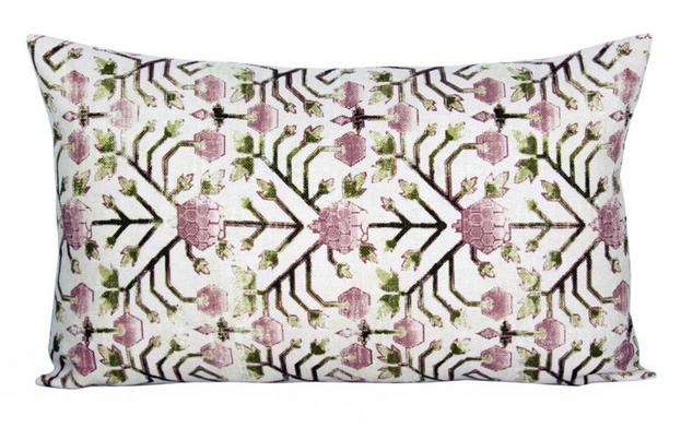 Khotan Pembe Lumbar Pillow
