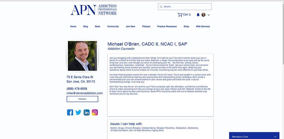 Professionals Profile Screen Capture.jpg
