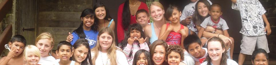 Project Hawaii Teen Mentoring Summer Camp in Hawaii