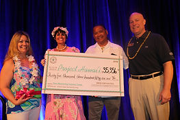 HPE Drive to Success Donation to Project Hawai'i, Inc.