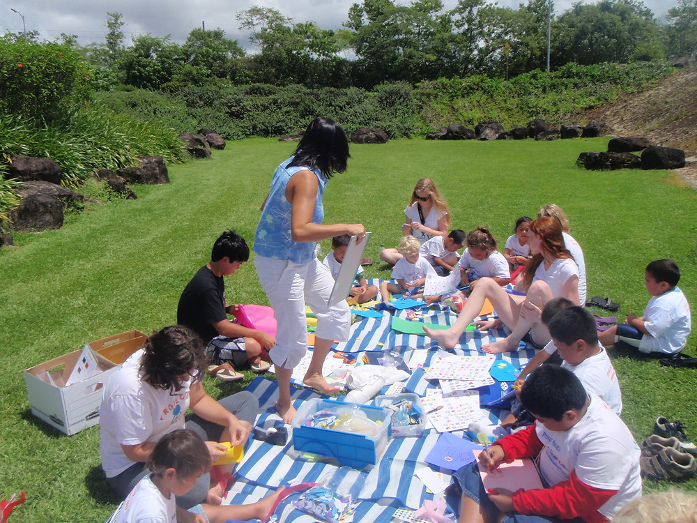 Share your talents and allow our keiki to explore the worlds wonders