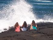 Project Hawai'i, Inc. teen mentoring summer program at the ocean