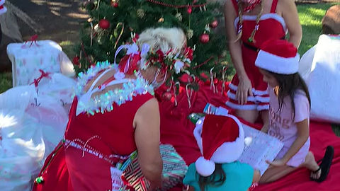 Christmas Wishes Coming True for Homeless Keiki