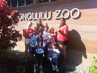 Project Hawaii Teen Mentors at Honolulu Zoo
