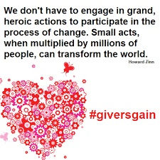 givers gain, companies giving back, philanthropist