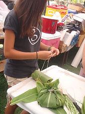 Making LauLau in Hawaii Teen Mentors
