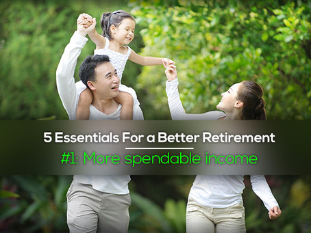 5 Essentials For a Better Retirement #1